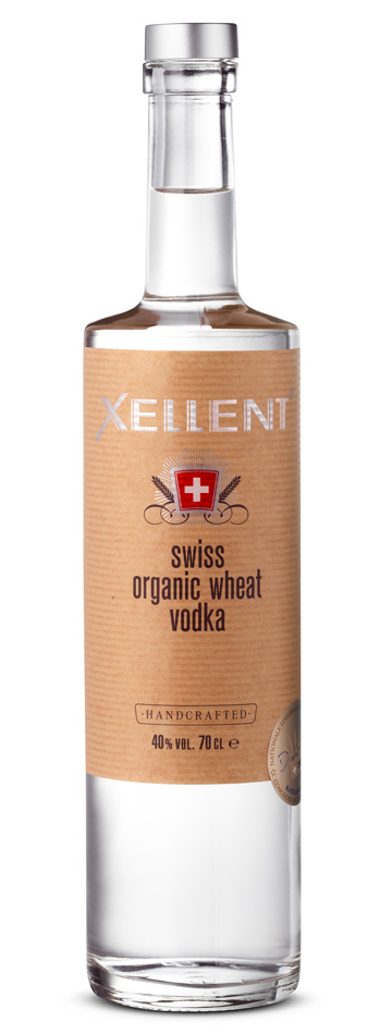 Xellent Swiss Organic wheat Vodka